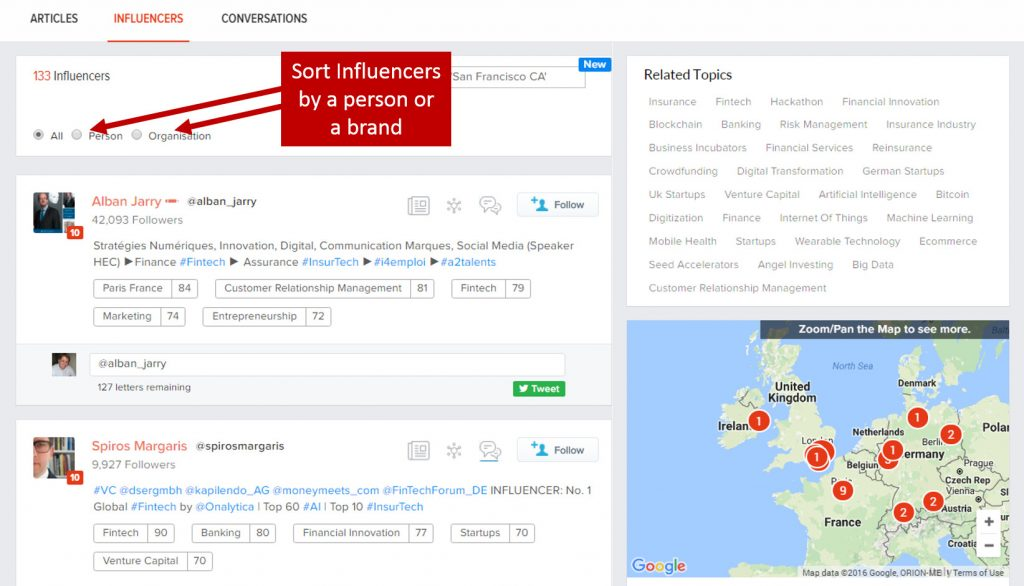 12 right relevance influencers